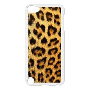 iPod Touch 5 Case White Snow leopard 002 Exquisite designs Phone Case TF75H8J8
