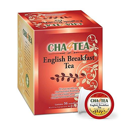 Cha4TEA 36 Count English Breakfast Keurig