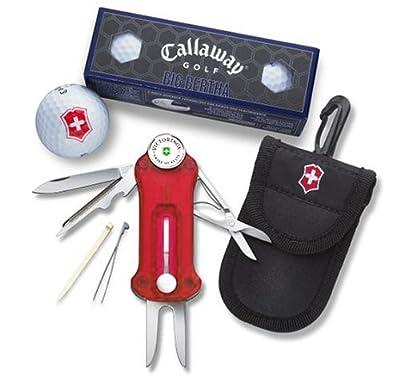Victorinox Swiss Army Golf Tool With Callaway Golf Balls