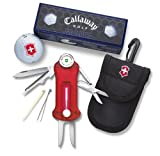 Victorinox Swiss Army Golf Tool With Callaway Golf Balls