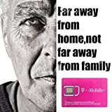 T-Mobile USA Sim Card Unlimited Data -True Unlimited High Speed Data/Calls/Texts (Unlimited 21 Days)