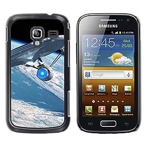 Paccase / SLIM PC / Aliminium Casa Carcasa Funda Case Cover - Spaceship - Samsung Galaxy Ace 2 I8160 Ace II X S7560M