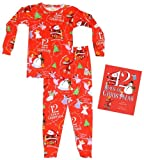 Books to Bed Books To Bed 12 Days Bag W/Ribbon - Red (Girl)- 4T