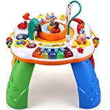 Sytle-Carry Learning & Discovering Table Baby Toys - Music Electronic Educational Toys Sit-to-Stand Activity Center