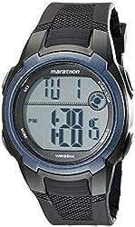 Timex Men's T5K820M6 Marathon Digital Watch With Black Resin Band