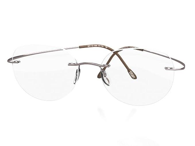 Amazon.com: anteojos Silueta TMA debe Collection Gris ...