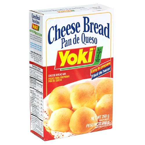 Yoki (Brex), Cheese Bread Mix, 8.8-Ounce Units (Pack of 24)