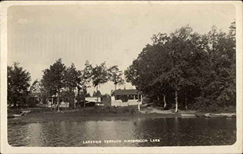 Lakeside Terrace, Kinderhook Lake Niverville, New York Original Vintage Postcard