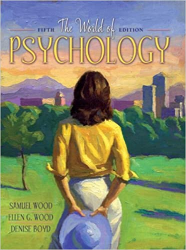 Book The World of Psychology: With Study Card