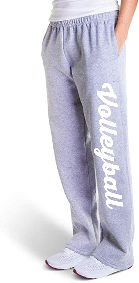 Youth To Adult Sizes Volleyball Script Leggings Multiple Colors Volleyball Leggings by ChalkTalk SPORTS