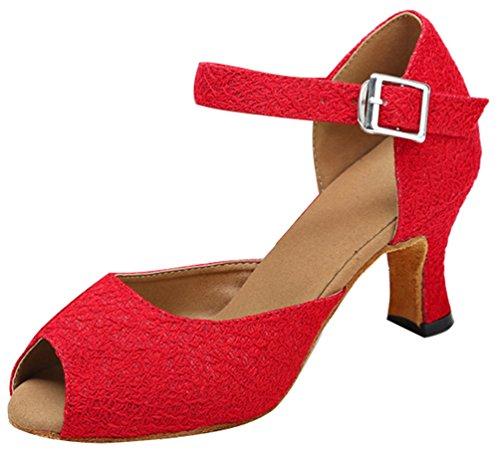 CFP - salón mujer Red(Outdoor Sole)