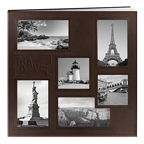 Pioneer BBM/L Sewn Embossed Collage Frame Post Bound Album 12