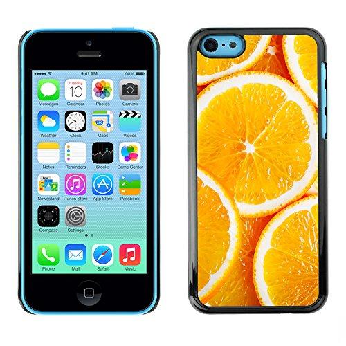Premio Sottile Slim Cassa Custodia Case Cover Shell // V00002435 oranges en tranches // Apple iPhone 5C