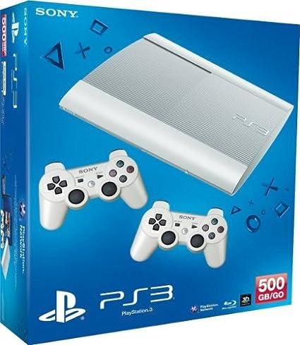PlayStation 3 - Consola 500 GB, Color Blanco + 2 Mandos Dual Shock 3: Amazon.es: Videojuegos