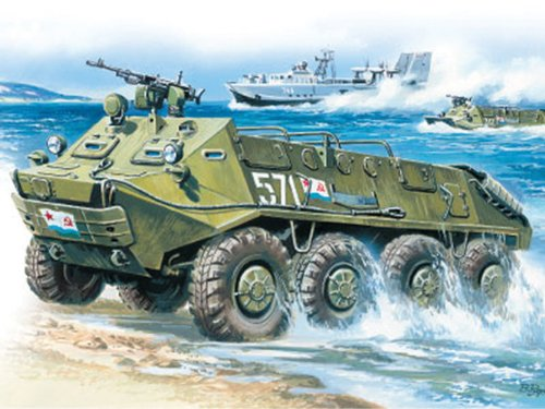 ICM Models BTR-60P Armored Personnel Carrier Building Kit (Armored Personnel Carrier Kit)