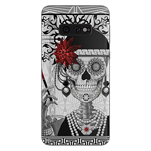 Mrs Gloria Vanderbone Protective Decal Sticker for Samsung Galaxy s10e - Scratch Proof Vinyl Skin Wrap Thin Edge Line Cover and Made in USA ()