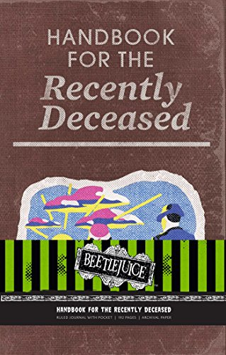 Beetlejuice: Handbook for the Recently Deceased Hardcover Ruled Journal