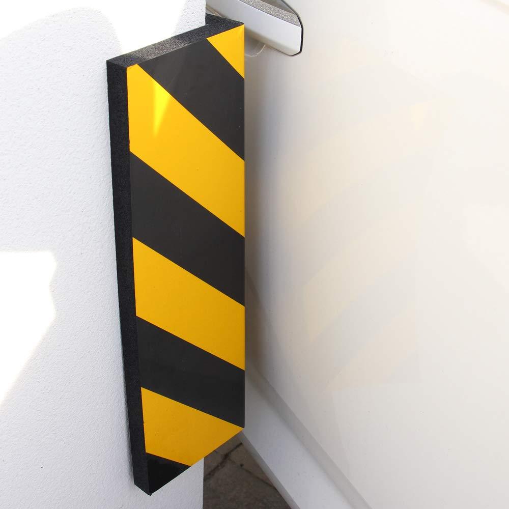 garage Bewave protection de parking Voiture protecteurs pare-chocs et anti-rayures en caoutchouc murale avertissement prot/ège-coins en mousse