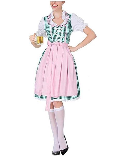 5bcf91a269f Women's German Dirndl Dress Costumes for Bavarian Oktoberfest ...