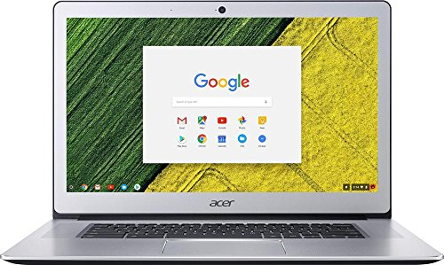 Acer 15.6″ FHD IPS Touch-Screen Chromebook-Intel Quad Core N4200 up to 2.5 GHz, 4GB RAM, 32GB SSD, Webcam, WIFI, Bluetooth, Chrome OS-Aluminum Chassis