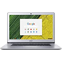 Acer 15.6 FHD IPS Touch-Screen Chromebook-Intel Quad Core N4200 up to 2.5 GHz, 4GB RAM, 32GB SSD, Webcam, WIFI, Bluetooth, Chrome OS-Aluminum Chassis