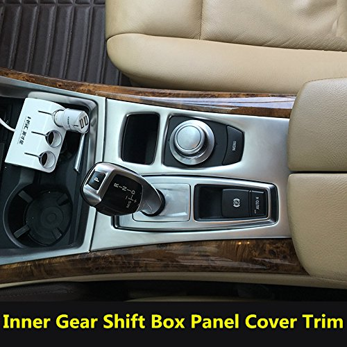 Interior Car Gear Box Panel Cover Trim For BMW X5 E70 2008-2009 X6 E71 2009 Bmw Box