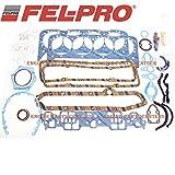 Fel Pro Gasket Set Chevy 350 1980-85 sb sbc Full Overhaul Complete 260-1045 (Full Set)