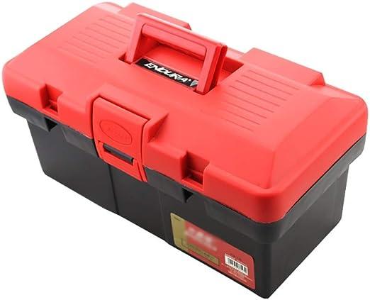 ZSHLZG Caja de Herramientas de plástico Doble Capa Plegable ...