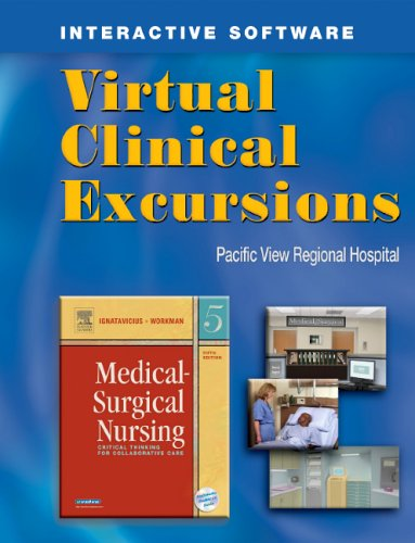 Virtual Clinical Excursions to Accompany Medical Surgical Nursing, Fifth Edition (workbook w/ cd-rom)