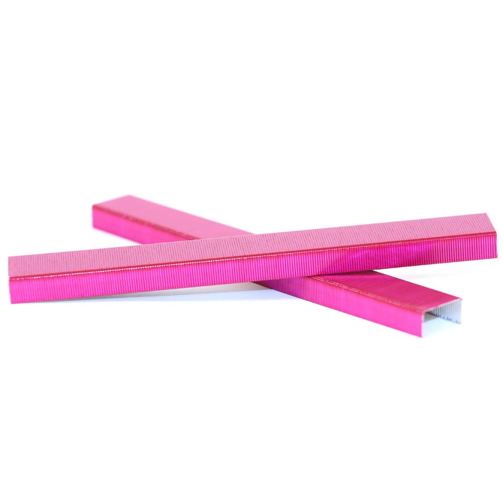 JAM PAPER Standard Size Colorful Staples - Pink - 5000/box by JAM Paper (Image #4)
