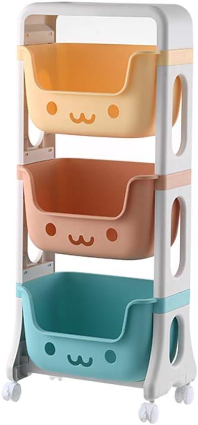 RMAN® Estantería para habitación infantil, 39,5 x 25 x 95 cm ...