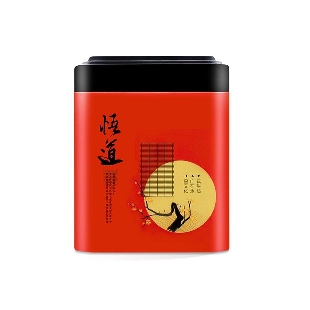 Tookie scatola porta t/è barattolo ermetico barattolo per il caff/è zucchero contenitore vintage ferro bidone da cucina Green Taglia libera