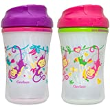 Gerber Graduates Advance w/Seal Zone Insulated Cup-Like Rim Sippy Cup, Girl, 9-Ounce (Pack of 4)