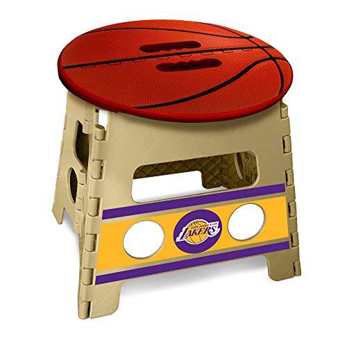 FANMATS NBA Los Angeles Lakers Folding Step Stool