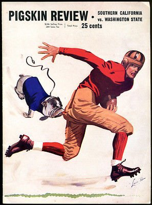 1940 USC v Washington State Football Program Ex Cond (Football Programs compare prices)
