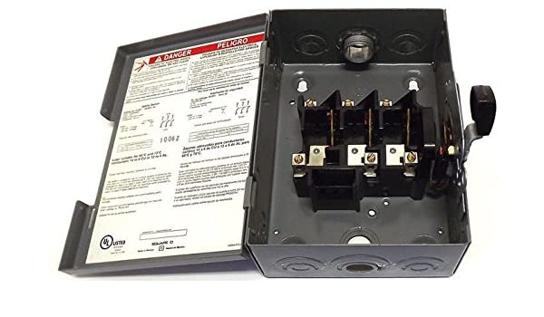 A Single Phase Square D 30 Amp Fuse Box Wiring