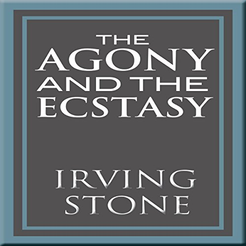 Where to find agony and the ecstasy audio book?