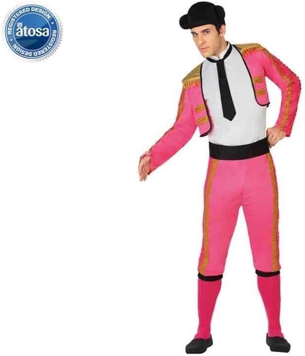 Atosa-26803 Disfraz torero, color rosa, M-L (26803): Amazon.es ...