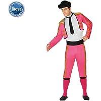 Atosa-26803 Disfraz torero Color rosa M-L (26803