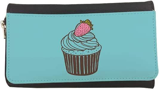 محفظة مصنوعة من الجلد بتصميم قطعة كعك