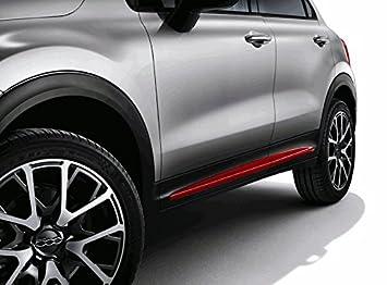 Original Fiat 500 x paneles para potenciador de lado en rojo: Amazon.es: Coche y moto