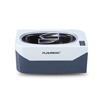 c13e9303676974 floureon Nettoyeur à Ultrasons Professionnel 400mL, Appareil Ultrasonique  Portable de Nettoyage pour Bijoux et Lunettes