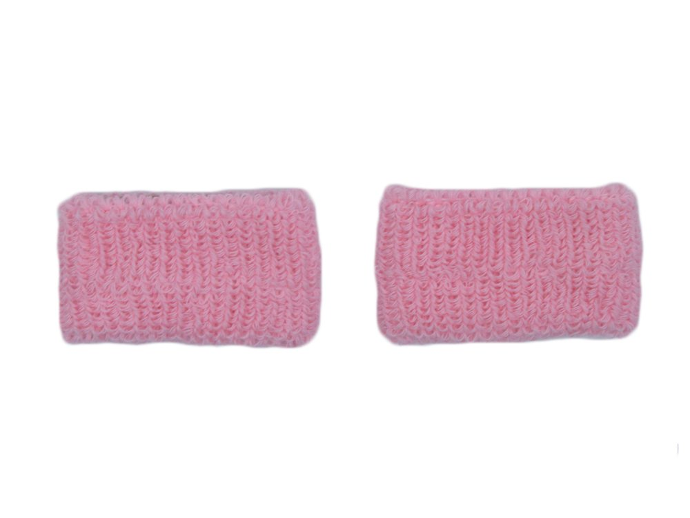COUVER - Youth - Kids - Children - Pink Breast Cancer Awareness Sweat Affordable Wirstband - Light Pink - Kids - 1 pair