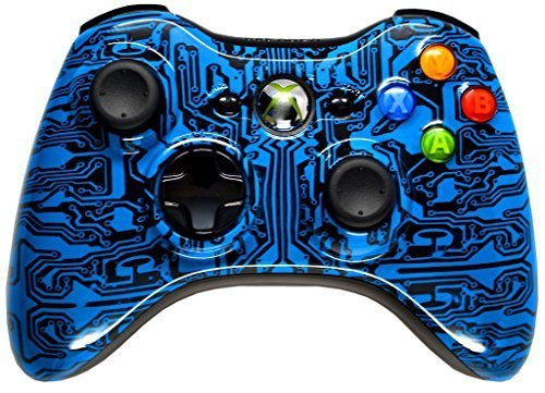 BLUE PACK A PUNCH 5000+ Modded Xbox 360 Controller, Works with all games Including COD Black Ops 3