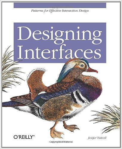 designing interfaces jenifer tidwell free