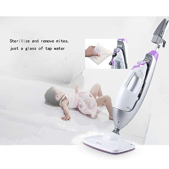 L&WB Herramientas de Limpieza fregona doméstica Limpia fregona máquina limpiadora automática de limpiaparabrisas sin Hilos Limpiador de Piso Robot de ...