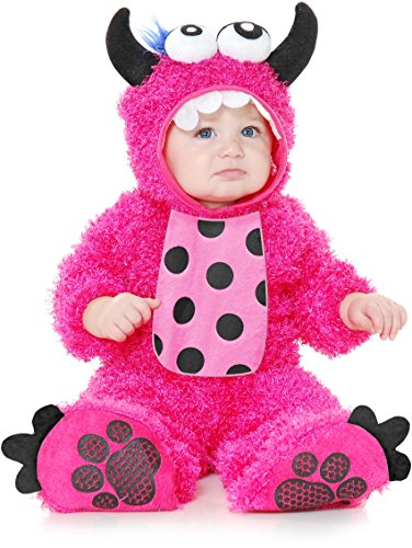 Charades Costumes Little Monster Madness Infant-Hot Pink