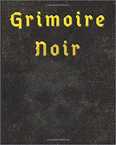 Grimoire Noir: Blank Lined Book of Shadows