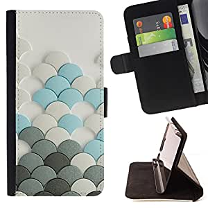 - Clean Minimalist Design Plastic - Estilo PU billetera de cuero del soporte del tir???¡¯????n [solapa de cierre] Cubierta- For Sony Xperia M2 £¨ Devil Case £©