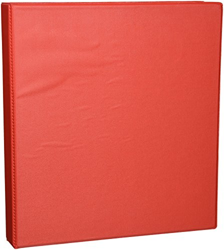 Avery Heavy-Duty Binder with 1 -Inch One Touch EZD Ring, Red, 1 Binder (79589)